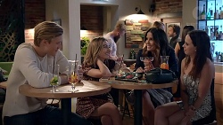 Cassius Grady, Piper Willis, Elly Conway, Bea Nilsson in Neighbours Episode 7858