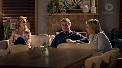 Sonya Rebecchi, Gary Canning, Steph Scully in Neighbours Episode 7858