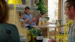 Steph Scully, Adam Fitzgerald, Charlie Hoyland, Nell Rebecchi, Toadie Rebecchi in Neighbours Episode 7859