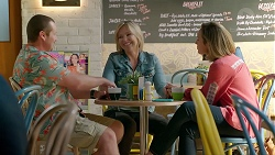 Toadie Rebecchi, Steph Scully, Sonya Mitchell in Neighbours Episode 7859