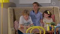 Adam Fitzgerald, Charlie Hoyland, Nell Rebecchi in Neighbours Episode 7859