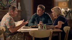 Toadie Rebecchi, Gary Canning, Sheila Canning in Neighbours Episode 7860
