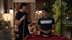 Leo Tanaka, David Tanaka in Neighbours Episode 7860