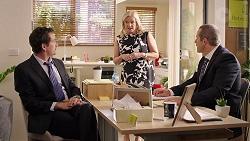 George Vellekoop, Sheila Canning, Toadie Rebecchi in Neighbours Episode 7860
