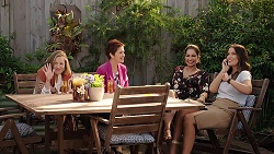 Sonya Mitchell, Susan Kennedy, Dipi Rebecchi, Elly Conway in Neighbours Episode 7863