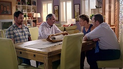 Shane Rebecchi, Karl Kennedy, Cassius Grady, Toadie Rebecchi in Neighbours Episode 7863