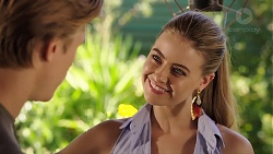 Cassius Grady, Chloe Brennan in Neighbours Episode 7864
