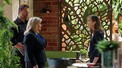 Shane Rebecchi, Sheila Canning, Fay Brennan in Neighbours Episode 7865