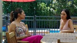 Dipi Rebecchi, Mishti Sharma in Neighbours Episode 7865