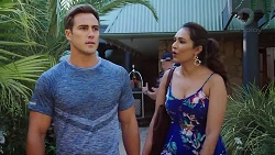 Aaron Brennan, Dipi Rebecchi in Neighbours Episode 7865