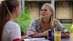 Chloe Brennan, Xanthe Canning in Neighbours Episode 7865