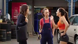 Elly Conway, Bea Nilsson, Mishti Sharma in Neighbours Episode 7866