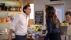 Leo Tanaka, Elly Conway, Dipi Rebecchi in Neighbours Episode 7867