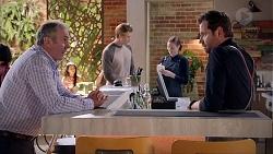 Karl Kennedy, Cassius Grady, Shane Rebecchi in Neighbours Episode 7867