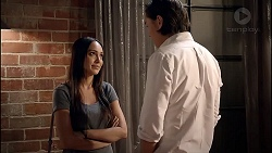 Mishti Sharma, Leo Tanaka in Neighbours Episode 7868