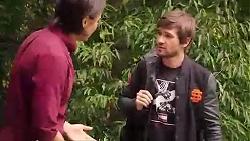 Leo Tanaka, Ned Willis in Neighbours Episode 7869