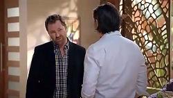 Shane Rebecchi, Leo Tanaka in Neighbours Episode 7869