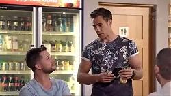 Mark Brennan, Aaron Brennan in Neighbours Episode 7870
