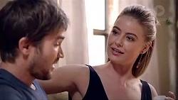 Ned Willis, Chloe Brennan in Neighbours Episode 7870