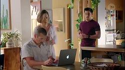 Toadie Rebecchi, Sonya Mitchell, David Tanaka in Neighbours Episode 7871