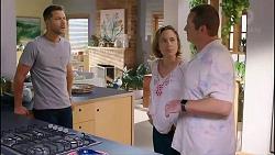 Mark Brennan, Sonya Mitchell, Toadie Rebecchi in Neighbours Episode 7871