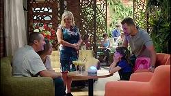 Toadie Rebecchi, Sonya Mitchell, Sheila Canning, Nell Rebecchi, Mark Brennan in Neighbours Episode 7871