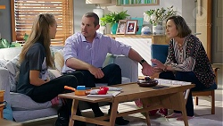 Willow Bliss, Toadie Rebecchi, Sonya Mitchell in Neighbours Episode 7872