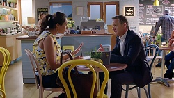 Dipi Rebecchi, Paul Robinson in Neighbours Episode 7872