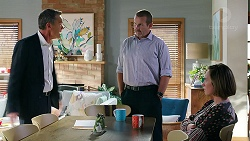 Paul Robinson, Toadie Rebecchi, Sonya Mitchell in Neighbours Episode 7872