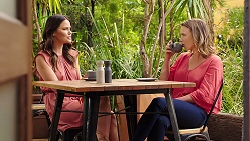 Elly Conway, Amy Williams in Neighbours Episode 7873