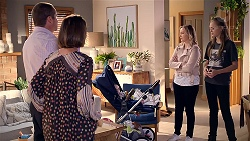 Toadie Rebecchi, Steph Scully, Sindi Watts, Willow Bliss in Neighbours Episode 7873