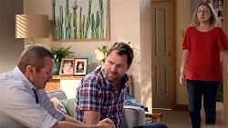 Toadie Rebecchi, Shane Rebecchi, Sindi Watts in Neighbours Episode 7874