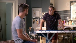 Mark Brennan, Aaron Brennan in Neighbours Episode 7874