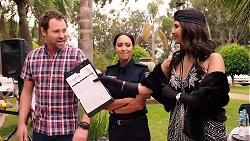 Shane Rebecchi, Mishti Sharma, Dipi Rebecchi in Neighbours Episode 7874