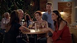 Bea Nilsson, Karl Kennedy, Susan Kennedy, Mark Brennan, Elly Conway in Neighbours Episode 7876