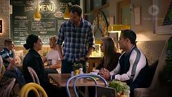 Mishti Sharma, Shane Rebecchi, Chloe Brennan, Aaron Brennan in Neighbours Episode 7876