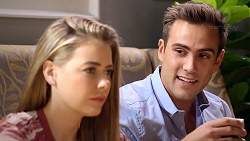 Chloe Brennan, Aaron Brennan in Neighbours Episode 7876