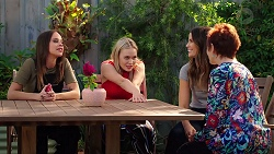 Bea Nilsson, Xanthe Canning, Elly Conway, Susan Kennedy in Neighbours Episode 7876