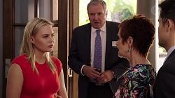Xanthe Canning, Karl Kennedy, Susan Kennedy, David Tanaka in Neighbours Episode 7877