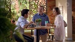 David Tanaka, Toadie Rebecchi, Sonya Mitchell in Neighbours Episode 7877