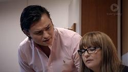 Leo Tanaka, Terese Willis in Neighbours Episode 7878