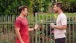Aaron Brennan, Mark Brennan in Neighbours Episode 7878
