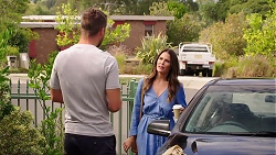 Mark Brennan, Elly Conway in Neighbours Episode 7878