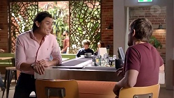 Leo Tanaka, Ned Willis in Neighbours Episode 7879