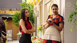 Mishti Sharma, Dipi Rebecchi in Neighbours Episode 7879