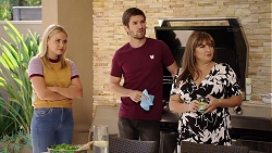 Xanthe Canning, Ned Willis, Terese Willis in Neighbours Episode 7880