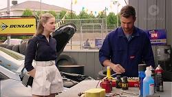 Chloe Brennan, Mark Brennan in Neighbours Episode 7880
