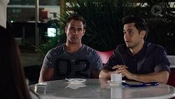 Aaron Brennan, David Tanaka in Neighbours Episode 7882
