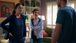 Elly Conway, Susan Kennedy, Mark Brennan in Neighbours Episode 7883