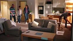 Karl Kennedy, Susan Kennedy, Elly Conway, Mark Brennan in Neighbours Episode 7883